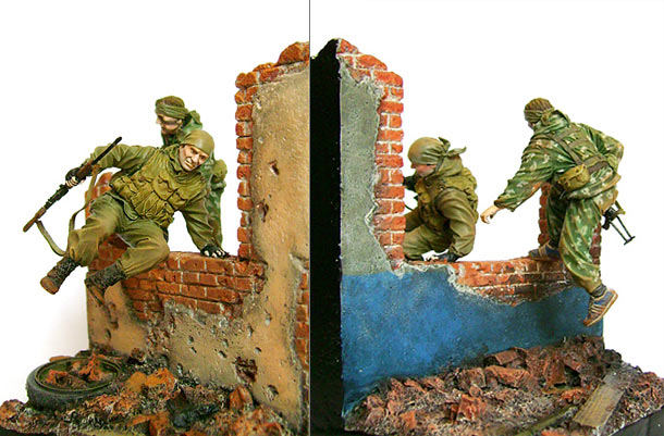 Dioramas and Vignettes: Spetsnaz in action