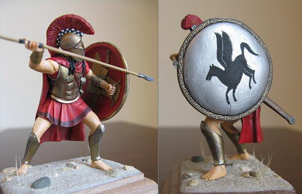 Figures: Spartan Hoplite