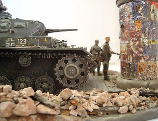 Dioramas and Vignettes: After the assault, 1941