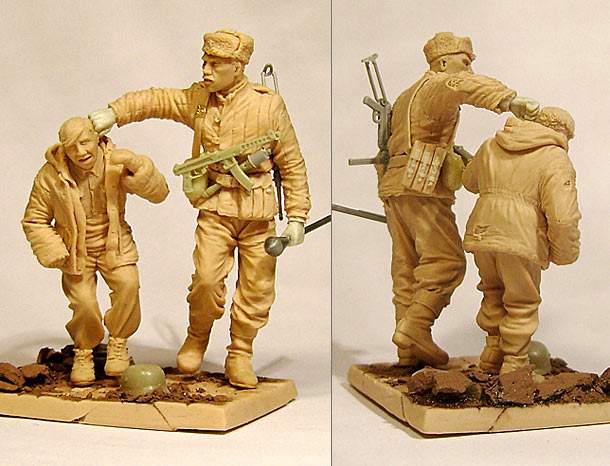 Sculpture: You, little stinker!..