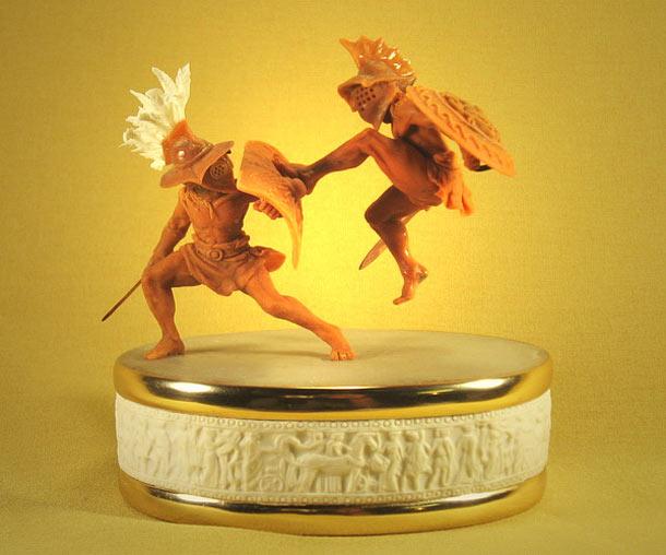 Sculpture: Waltz of the Gladiators