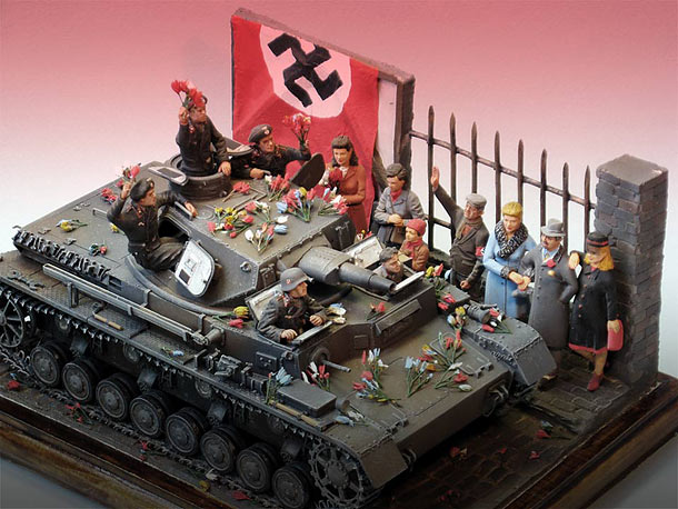 Dioramas and Vignettes: Anschluss. The Beginning of the End.