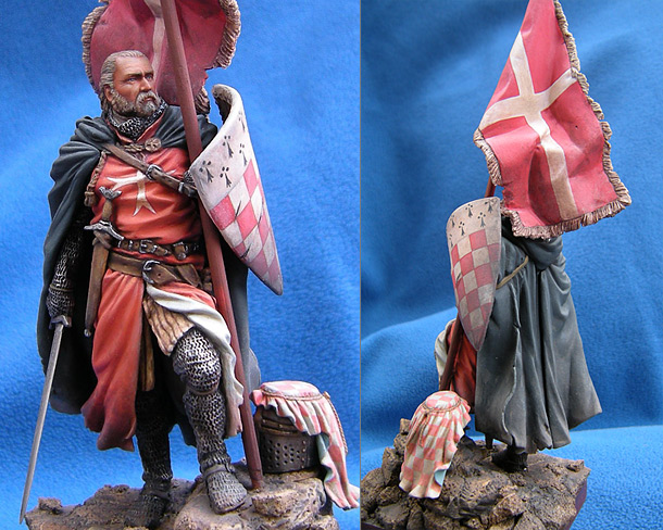 Figures: Magister of Hospitallers order