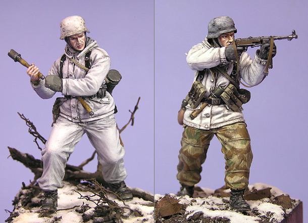 Figures: German infantry