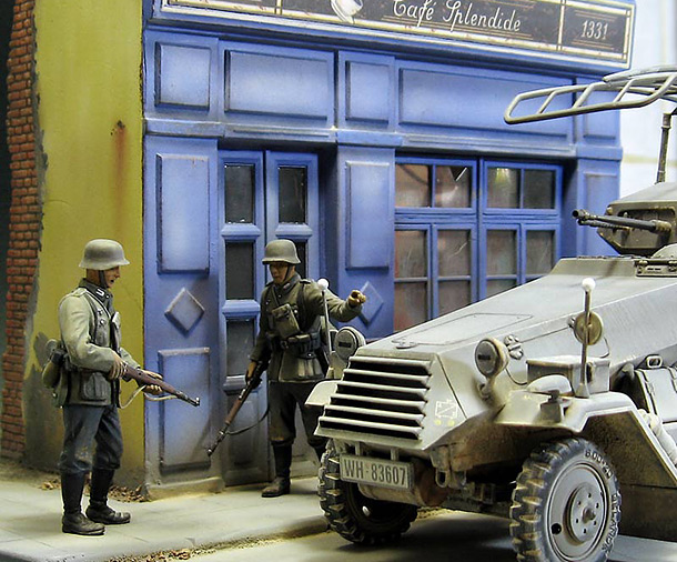 Dioramas and Vignettes: France, 1940. Uninvited guests.