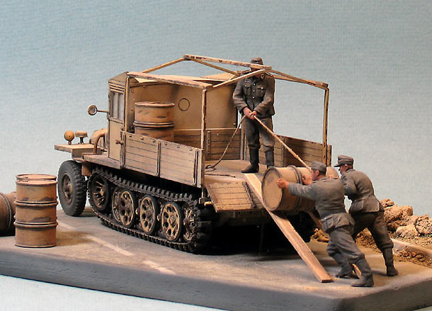 Dioramas and Vignettes: The last cargo of Reich...