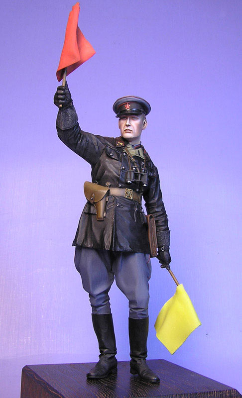Figures: Junior lieutenant, Red Army armored troops, 1941, photo #3