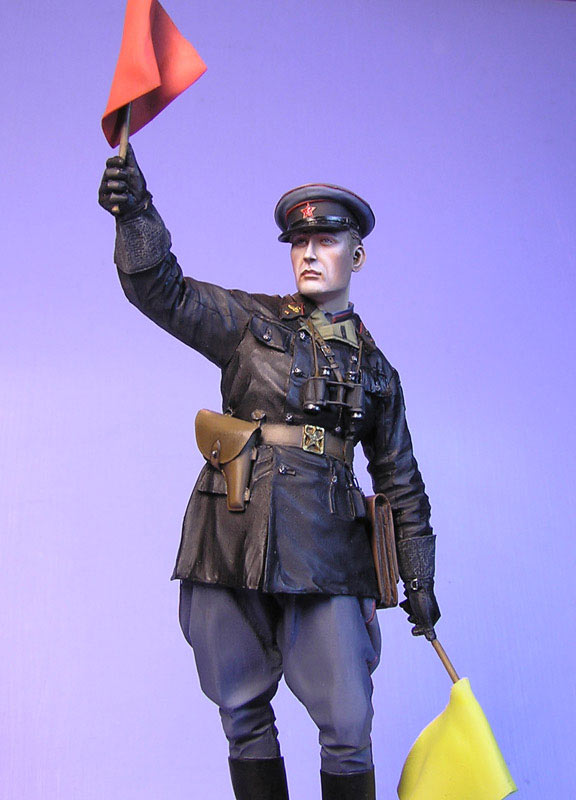 Figures: Junior lieutenant, Red Army armored troops, 1941, photo #4