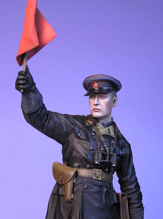 Figures: Junior lieutenant, Red Army armored troops, 1941, photo #5