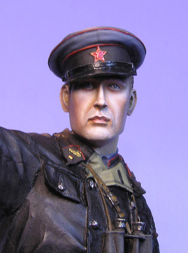 Figures: Junior lieutenant, Red Army armored troops, 1941, photo #6