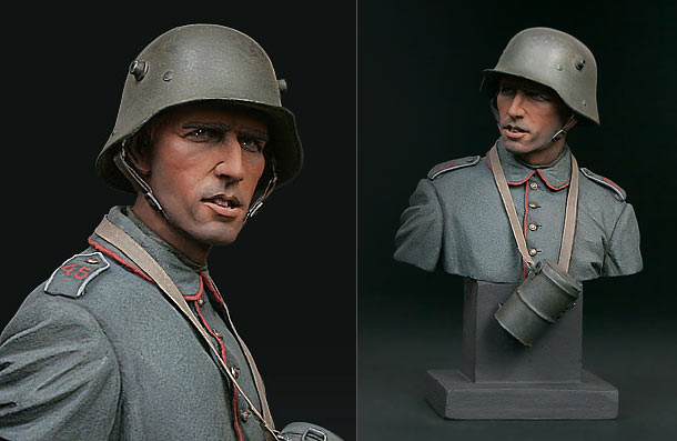 Figures: German infantryman, 1916