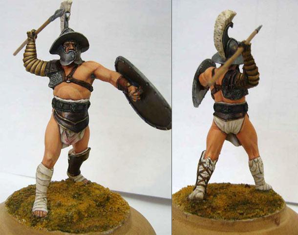 Figures: Roman Gladiator