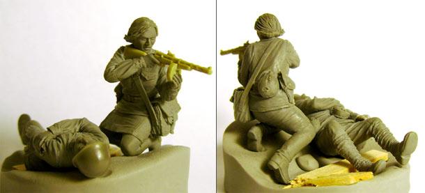 Sculpture: Endure just a minute...