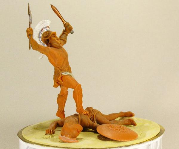 Sculpture: The Warrior, photo #1