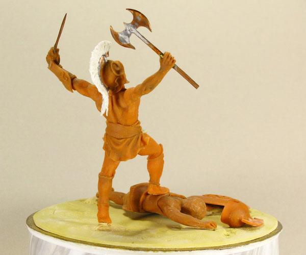 Sculpture: The Warrior, photo #2