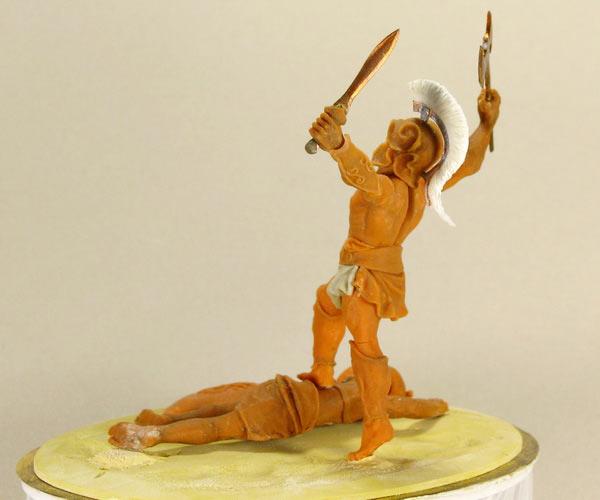 Sculpture: The Warrior, photo #3