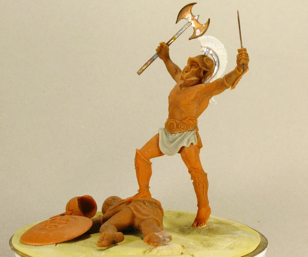 Sculpture: The Warrior, photo #4