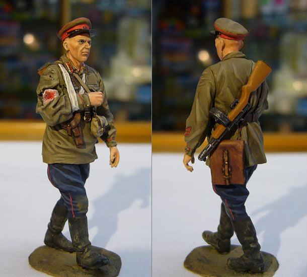 Figures: Red Army officer