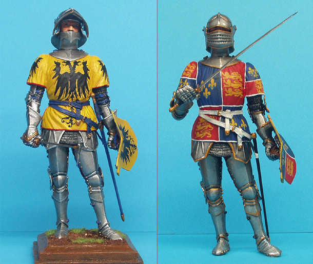 Figures: Medieval Knights
