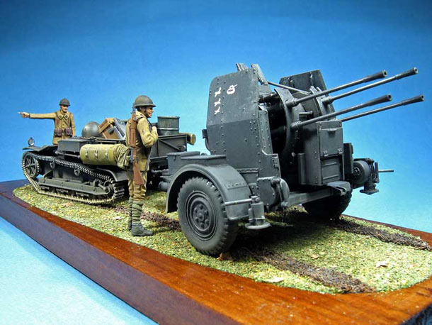 Dioramas and Vignettes: First trophies of the French army