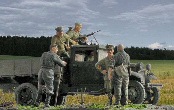 Training Grounds: 22 June 1941. Road to Belostock