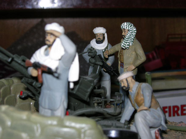Training Grounds: Afghan war