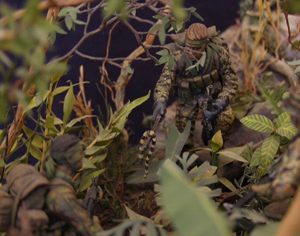 Dioramas and Vignettes: In the Jungle of Vietnam