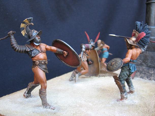 Dioramas and Vignettes: The Gladiators