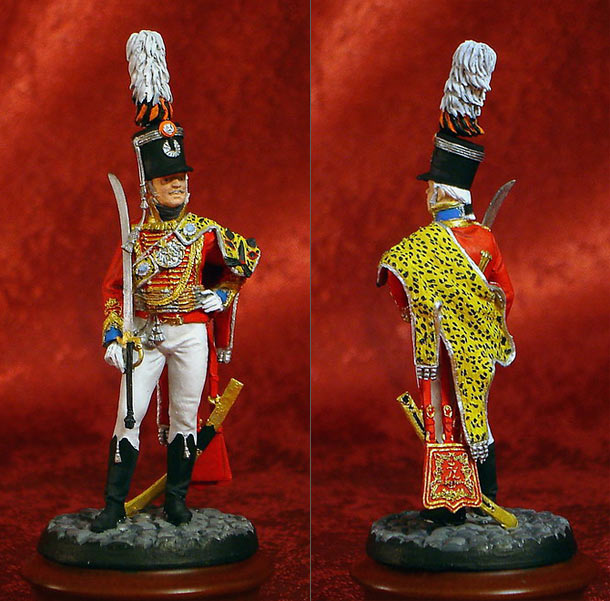 Figures: Hussar Officer of the Imperial Russian Guard, 1802-1809