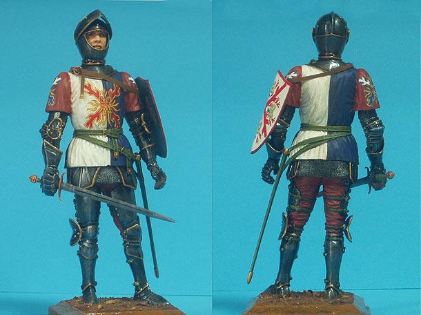 Figures: Burgundian Knight