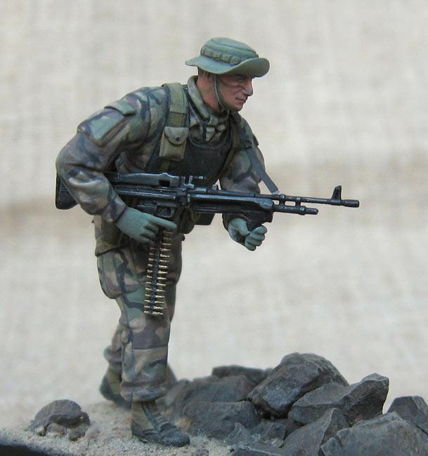 Figures: U.S. Navy Seal, 1990s, photo #1