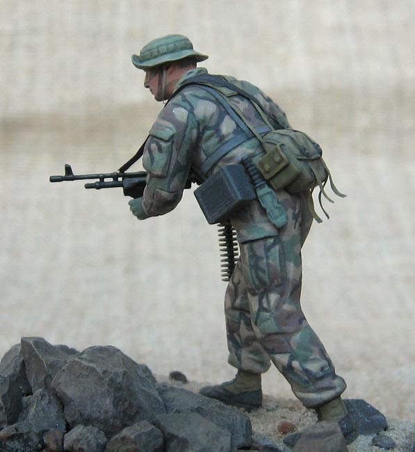 Figures: U.S. Navy Seal, 1990s, photo #2