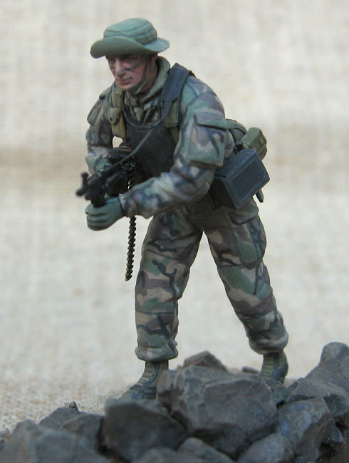 Figures: U.S. Navy Seal, 1990s, photo #4