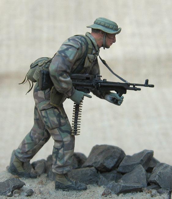 Figures: U.S. Navy Seal, 1990s, photo #8