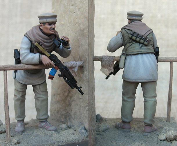 Figures: Commander of Soviet GRU Spetsnaz squad, Afghanistan