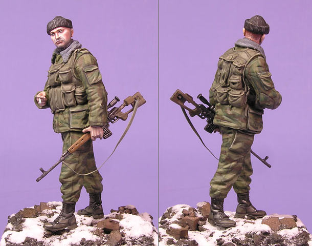 Figures: Sniper, Chechen war
