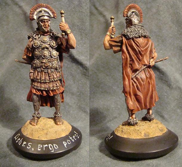 Figures: Debes, ergo potes, legionarius...