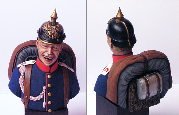 Figures: Infantryman, 74th Prussian regt.