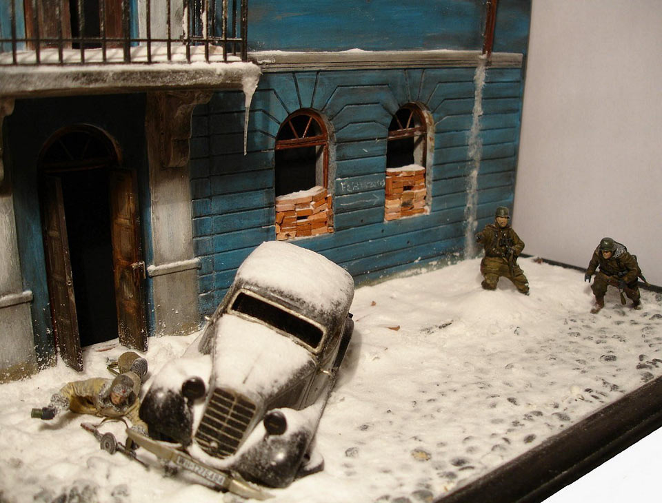 Dioramas and Vignettes: Streets of Kharkov, photo #1