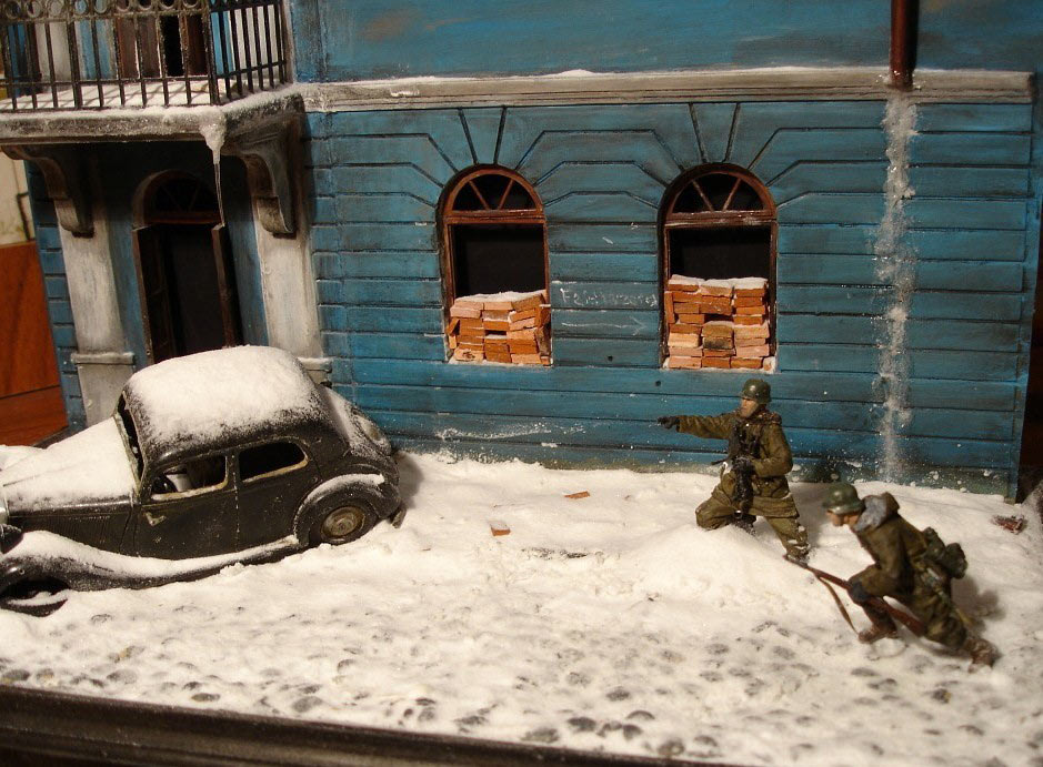 Dioramas and Vignettes: Streets of Kharkov, photo #2