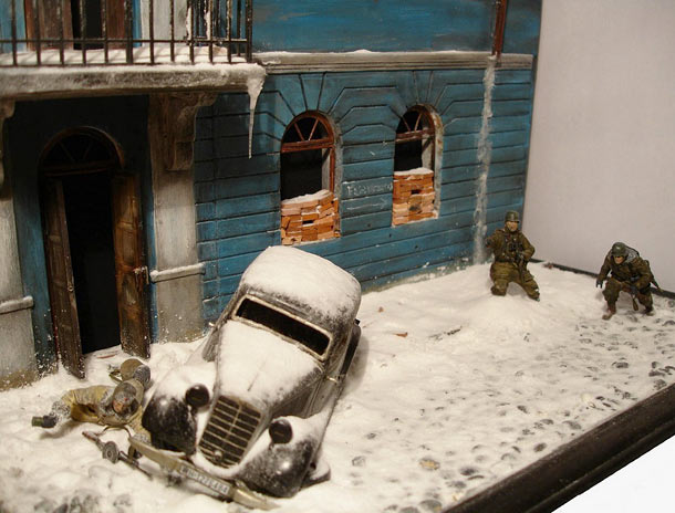 Dioramas and Vignettes: Streets of Kharkov