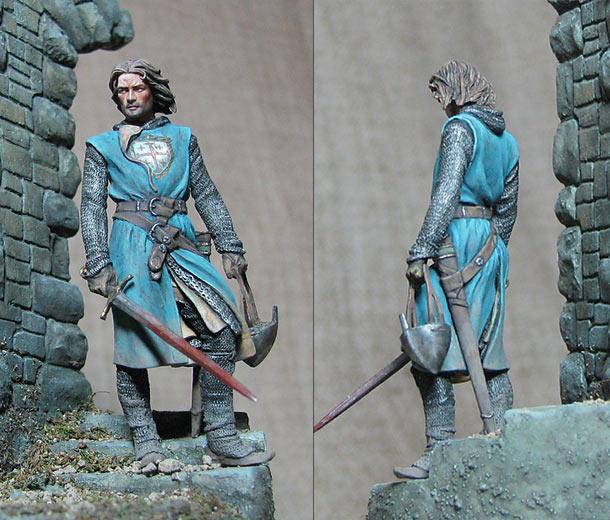 Figures: Knight, Kingdom of Jerusalem
