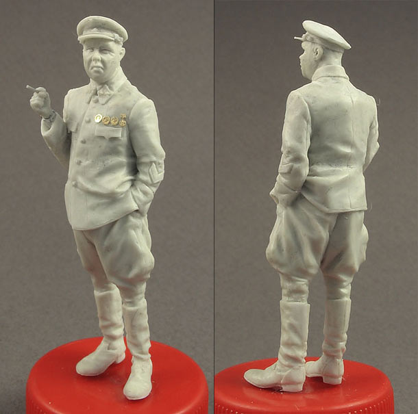 Sculpture: Red Army General, 1940-43