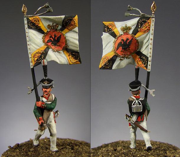 Figures: Standard bearer, Leib Guards Lithuanian regiment