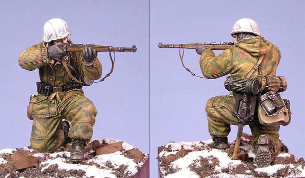 Figures: German infantryman