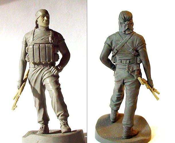 Sculpture: FSB Special Trooper
