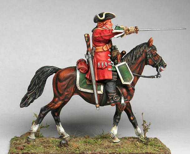Figures: Cadogan's Cavalryman, 1709