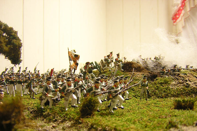 Photo 14 - Battle at Borodino | Dioramas and Vignettes | Gallery on