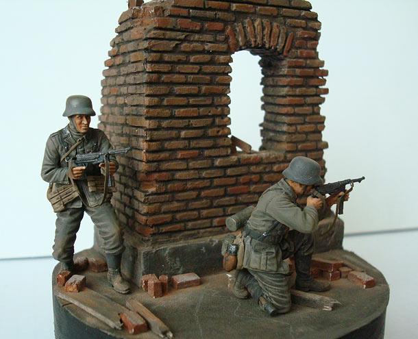 Dioramas and Vignettes: Street Combat