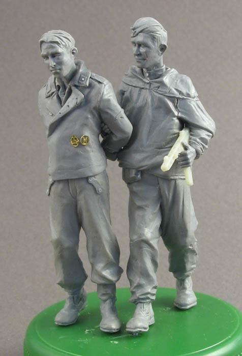 Sculpture: A prisoner for interrogation, photo #1
